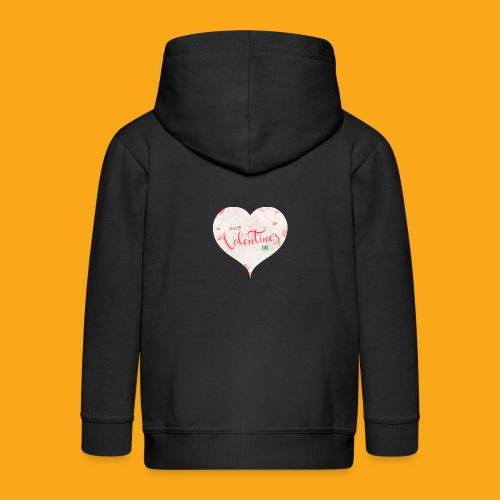 Happy Valentinesday - Kinder Premium Kapuzenjacke