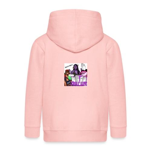 Barzey Beats - Kids' Premium Zip Hoodie