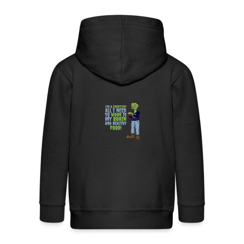 A Creativ - Kids' Premium Zip Hoodie