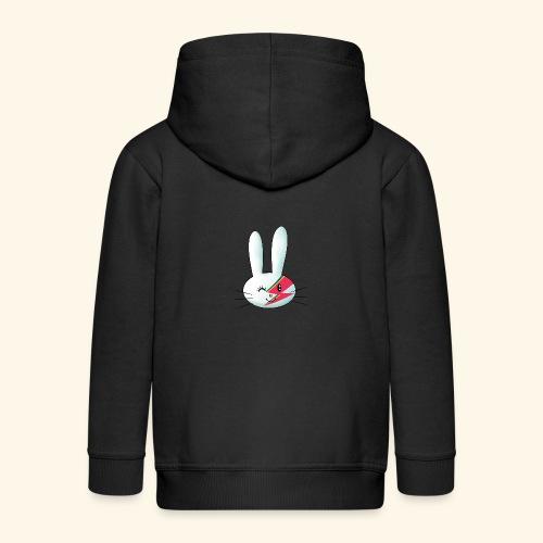Hase Bunny Ziggy - Chaqueta con capucha premium niño