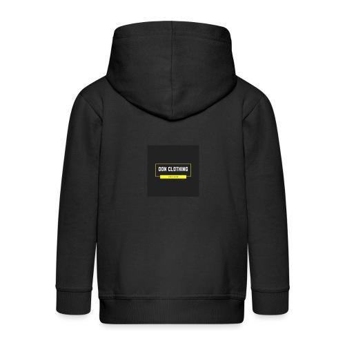 Don kläder - Premium-Luvjacka barn