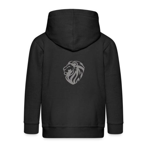 Lion grey - Veste à capuche Premium Enfant