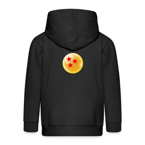 3 Estrellas Bola dragón - Chaqueta con capucha premium niño