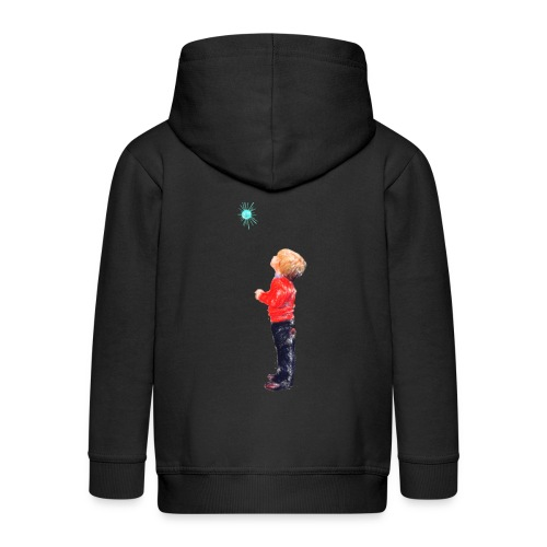 The Boy and the Blue - Kids' Premium Zip Hoodie