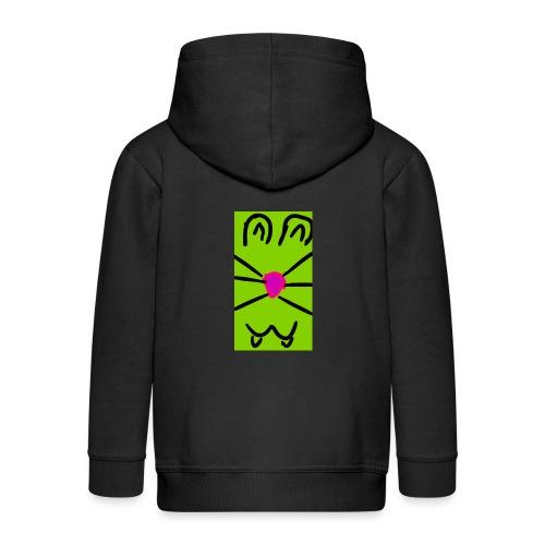 Gato :3 - Chaqueta con capucha premium niño