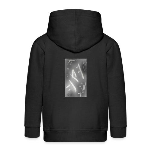 Camiseta frase japones - Chaqueta con capucha premium niño