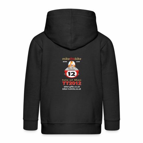 mikethebike com - Kids' Premium Zip Hoodie