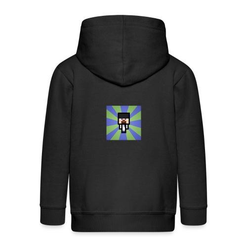 Baxey main logo - Kids' Premium Zip Hoodie