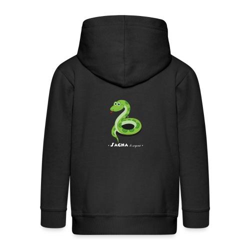 Sacha le serpent - Veste à capuche Premium Enfant