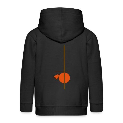 berimbau caxixi - Kids' Premium Hooded Jacket