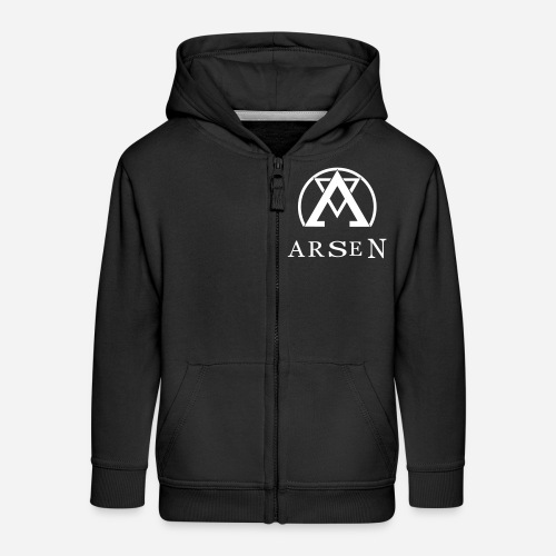 arsen logo finalvector - Kinder Premium Kapuzenjacke