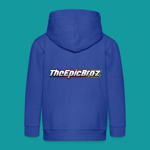 TheEpicBroz - Kinderen Premium jas met capuchon