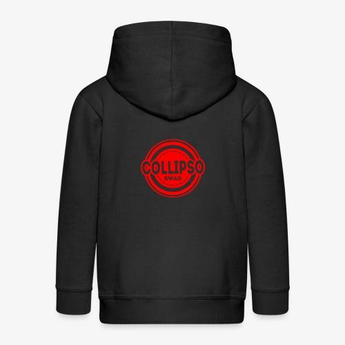 Collipso Large Logo - Kids' Premium Zip Hoodie