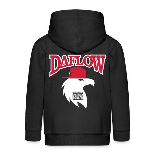 DANCER'S DAFLOW EAGLE EMBLEM - Kinder Premium Kapuzenjacke