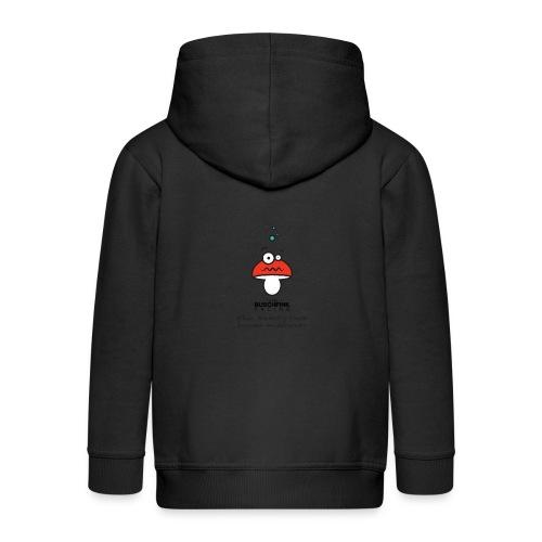 Memory Foam Logo - Kids' Premium Zip Hoodie
