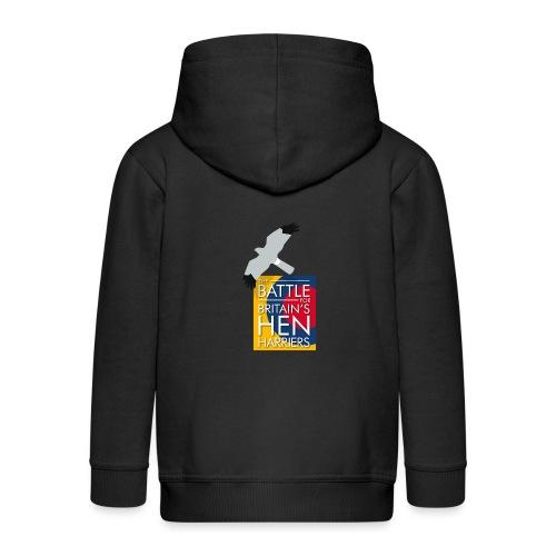New for 2017 - Women's Hen Harrier Day T-shirt - Kids' Premium Zip Hoodie
