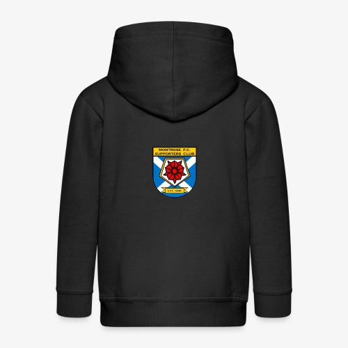 Montrose FC Supporters Club - Kids' Premium Zip Hoodie