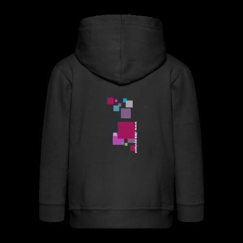 ontwerp t shirt png - Kids' Premium Zip Hoodie