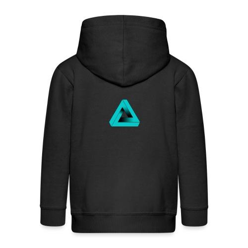 Impossible Triangle - Kids' Premium Zip Hoodie