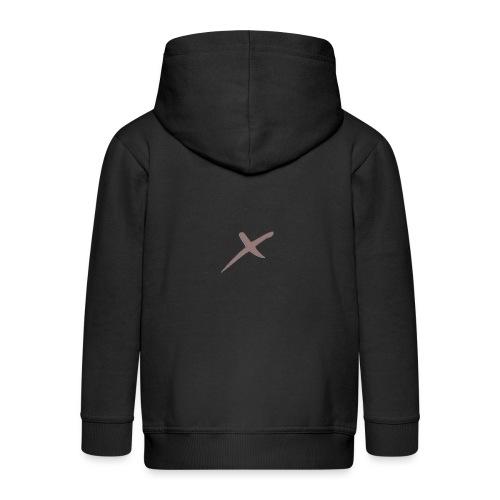 X-Clothing v0.1 - Chaqueta con capucha premium niño