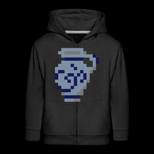 Pixel Bembel - Kinder Premium Kapuzenjacke