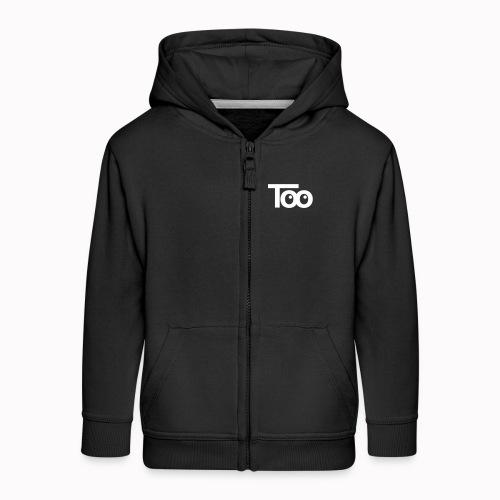 too - Felpa con zip Premium per bambini