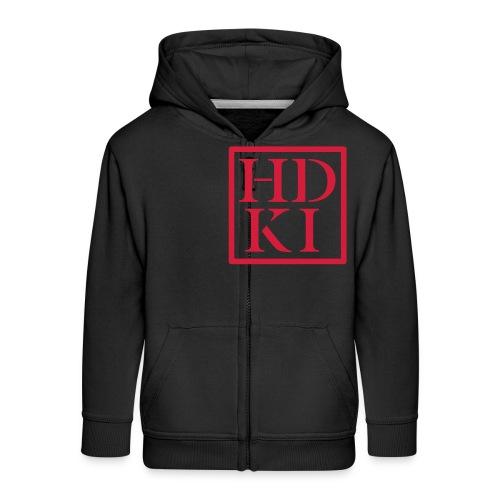 HDKI logo - Kids' Premium Hooded Jacket