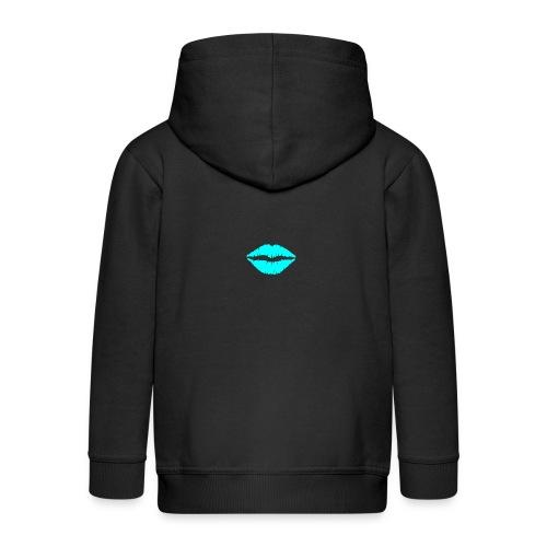 Blue kiss - Kids' Premium Hooded Jacket