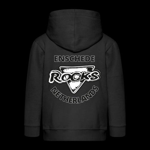 Rocks Enschede NL B-WB - Kinderen Premium jas met capuchon