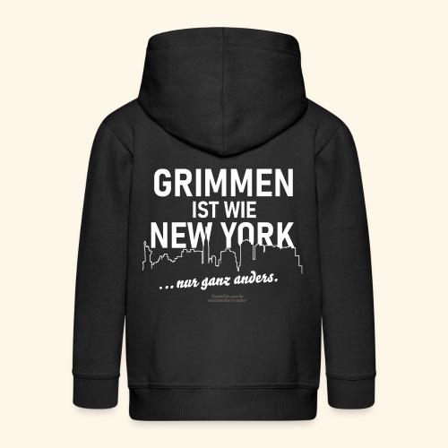 Grimmen - Kinder Premium Kapuzenjacke