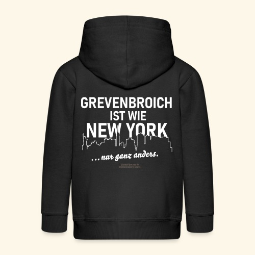 Grevenbroich - Kinder Premium Kapuzenjacke