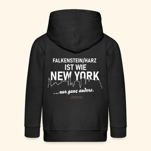 Falkenstein Harz - Kinder Premium Kapuzenjacke