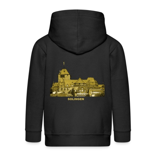 Solingen Schloss Burg Wupper Nordrhein-Westfalen - Kinder Premium Kapuzenjacke