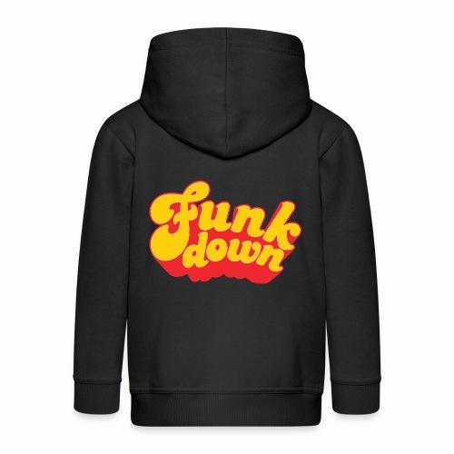 Funkdown Official Merchandise - Premium hættejakke til børn