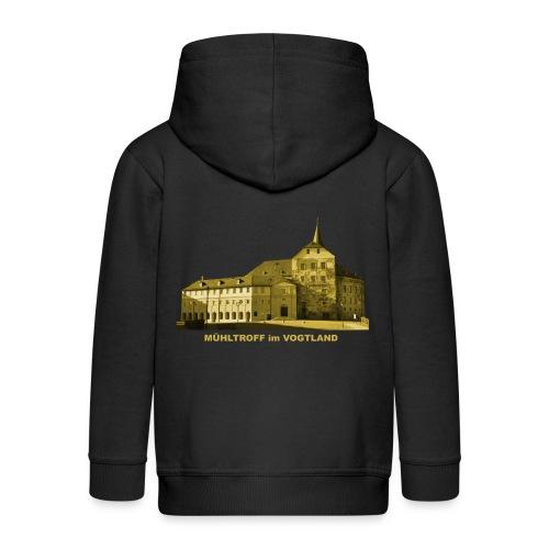 Mühltroff Burg Schloss Vogtland Sachsen - Kinder Premium Kapuzenjacke