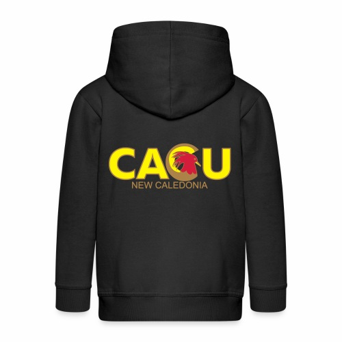 Cagu New Caldeonia - Veste à capuche Premium Enfant