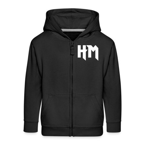 HM_vorne - Kinder Premium Kapuzenjacke