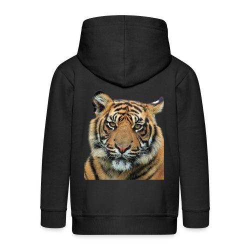 tiger 714380 - Felpa con zip Premium per bambini