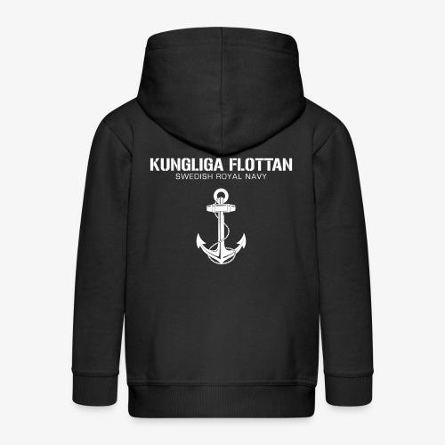 Kungliga Flottan - Swedish Royal Navy - ankare - Premium-Luvjacka barn
