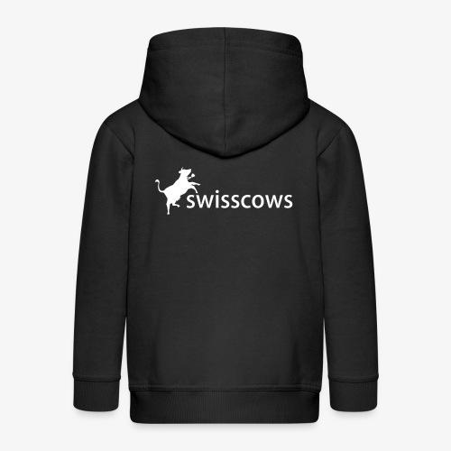 Swisscows - Logo - Kinder Premium Kapuzenjacke