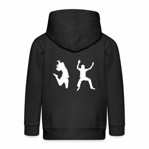 Trampoline - Kids' Premium Hooded Jacket