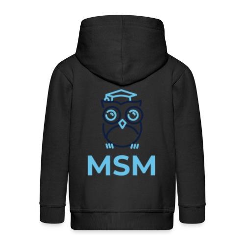 MSM UGLE - Premium hættejakke til børn