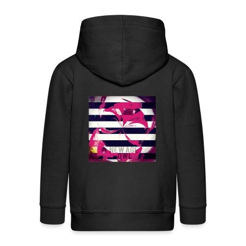 New age owl - Kids' Premium Hooded Jacket