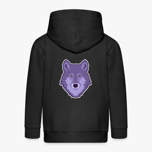 Spirit Wolf - Premium hættejakke til børn