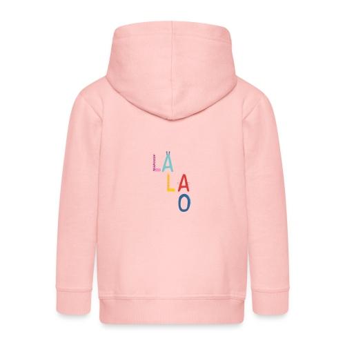 Lalao - Felpa con zip Premium per bambini