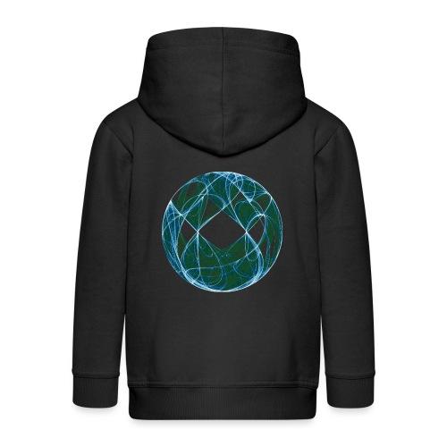 Harmony in the Ocean of Elements 446oce - Kids' Premium Hooded Jacket