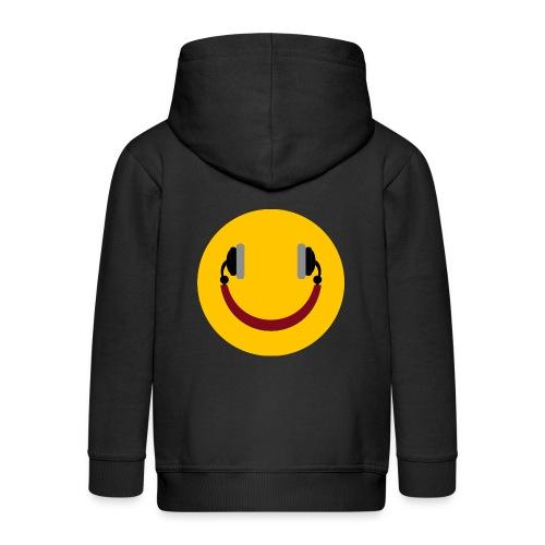 Smiling headphone - Premium hættejakke til børn