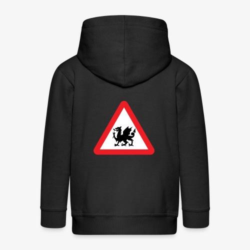 Welsh Dragon - Kids' Premium Hooded Jacket