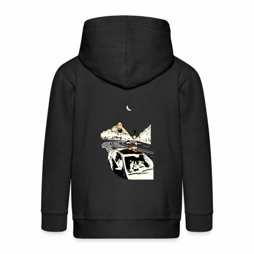 Taxi - Kids' Premium Hooded Jacket