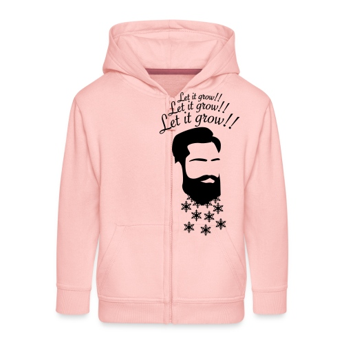 Let it grow! Beard - Kinder Premium Kapuzenjacke